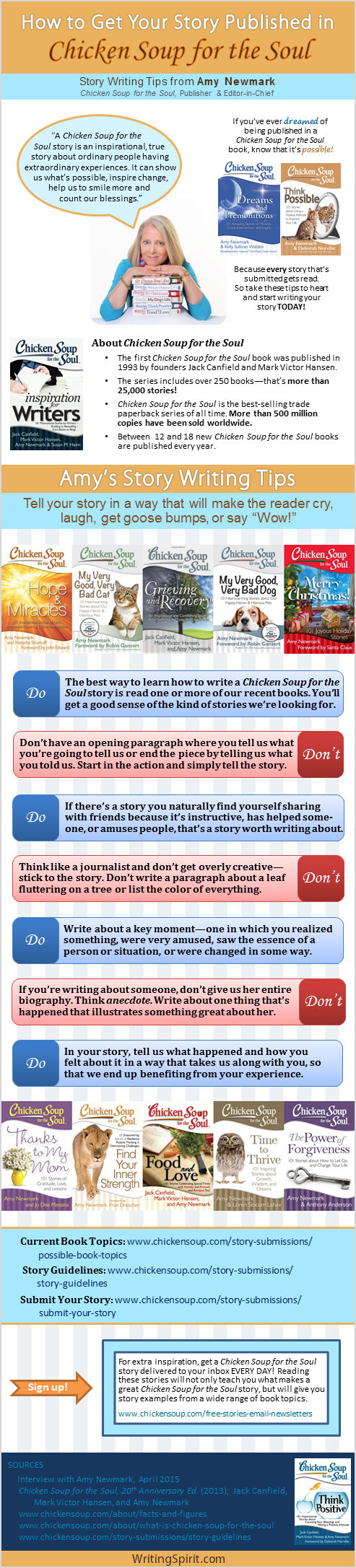 Chicken Soup for the Soul Writing Tips