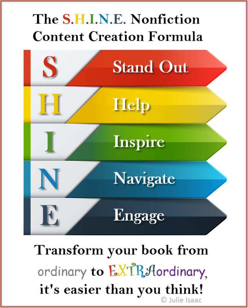 SHINE Nonfiction Book Formula-Julie Isaac